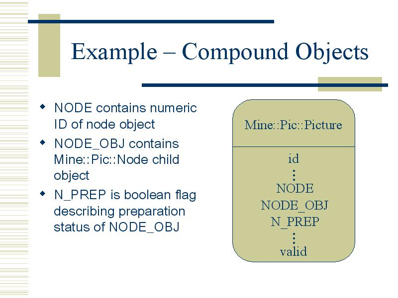 Example – Compound Objects